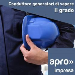 Conduttore generatori di vapore - II grado