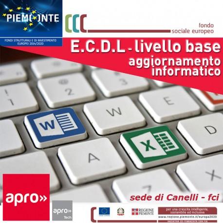 AGGIORNAMENTO INFORMATICO - ECDL BASE