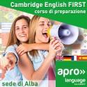 Cambridge English FIRST corso di preparazione