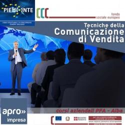 TECNICHE DELLA COMUNICAZIONE DI VENDITA