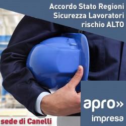 Corso Sicurezza Accordo Stato Regioni rischio alto