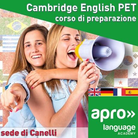 Cambridge English PET corso di preparazione