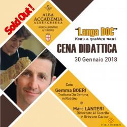 CENA DIDATTICA 30 01 2018 GEMMA LANTERI