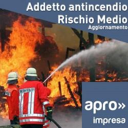 Aggiornamento Addetto Antincendio rischio medio