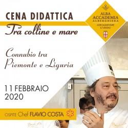CENA DIDATTICA CHEF FLAVIO COSTA 11/02
