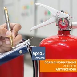 Aggiornamento Antincendio Rischio Basso - ed.1