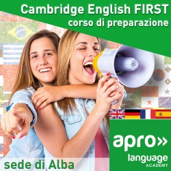 Cambridge English FIRST corso di preparazione