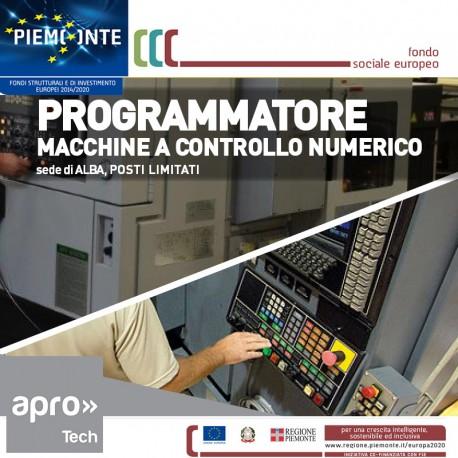 Conduttore programmatore macchine utensili a C.N.
