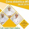 CENA DIDATTICA 8 05 2018 DEL SESSANTENNALE DI APRO