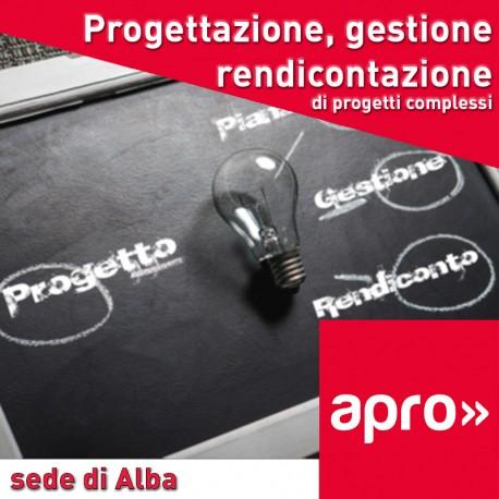 Tecn. di progett. gestione e rendicont. progetti