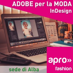 ADOBE per la moda - IN DESIGN BASE