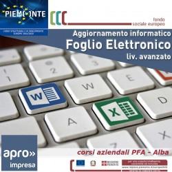 Aggiornamento informatico - Foglio Elettr.Avanzato