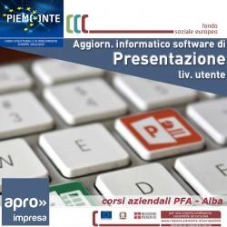 Agg. Inform. - Software di present. Liv.Utente