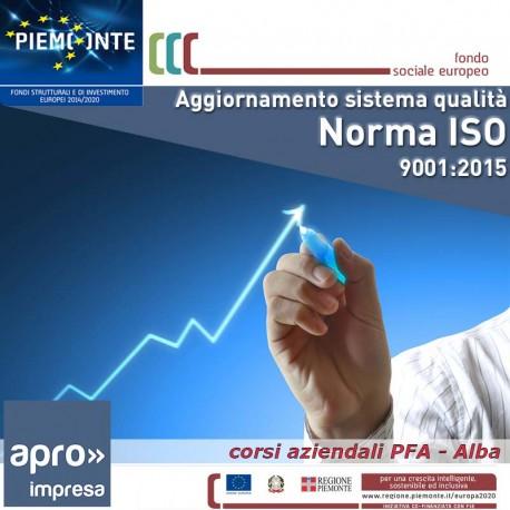 Agg. Sistema di gest. qualità-norma ISO 9001:2015