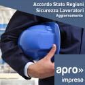 Aggiornamento Accordo Stato-Regioni sicurez.lavor.
