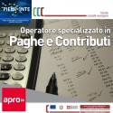 Operatore specializzato in paghe e contributi