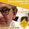 CENA DIDATTICA CHEF SERGIO VINEIS 15/01/19