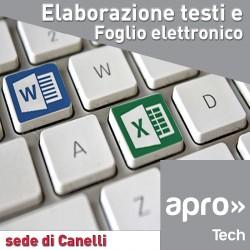 Elaborazione testi e foglio elettronico