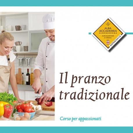 Il pranzo tradizionale/ the traditional menu